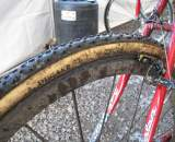 Dugast rubber wrapped around Mavic Cosmic Carbon Ultimates. ? Cyclocross Magazine