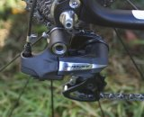 The electronic Di2 Dura Ace rear derailleur. © Jamie Mack