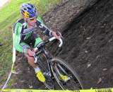 Tim Johnson, the master technician, shows how to ride the hill run-up. ? Paul Weiss