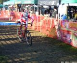 Another rider remounts.  © Cyclocross Magazine
