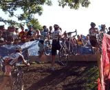 The rider regains control of his bike. © Cyclocross Magazine