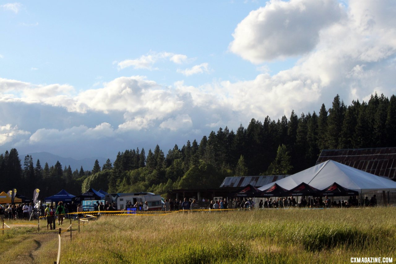 The Suncadia resorted served as a spectacular setting for a summer cyclocross race. © Cyclocross Magazine