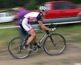 Sherwin was both fit and determined. Raleigh Midsummer Night cyclocross race. © Cyclocross Magazine