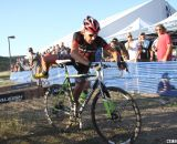 Driscoll flew the Jamis road jersey, but used his last year's Cannondales. © Cyclocross Magazine