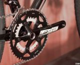 An FSA Gossamer compact 50/34 crankset will help you get up any dirt or gravel hills.  © Cyclocross Magazine