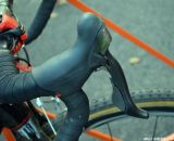 Shimano Dura-Ace shifters. © Cyclocross Magazine