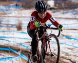 Brittlee Bowman in the women's 30-34 race at USA Cycling National Championships of Cyclocross. © Matt Lasala