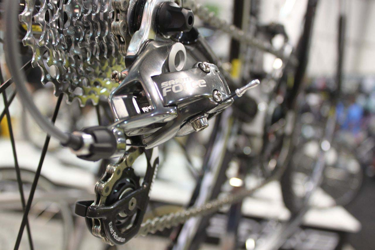SRAM Force graces the Redline Team. © Cyclocross Magazine