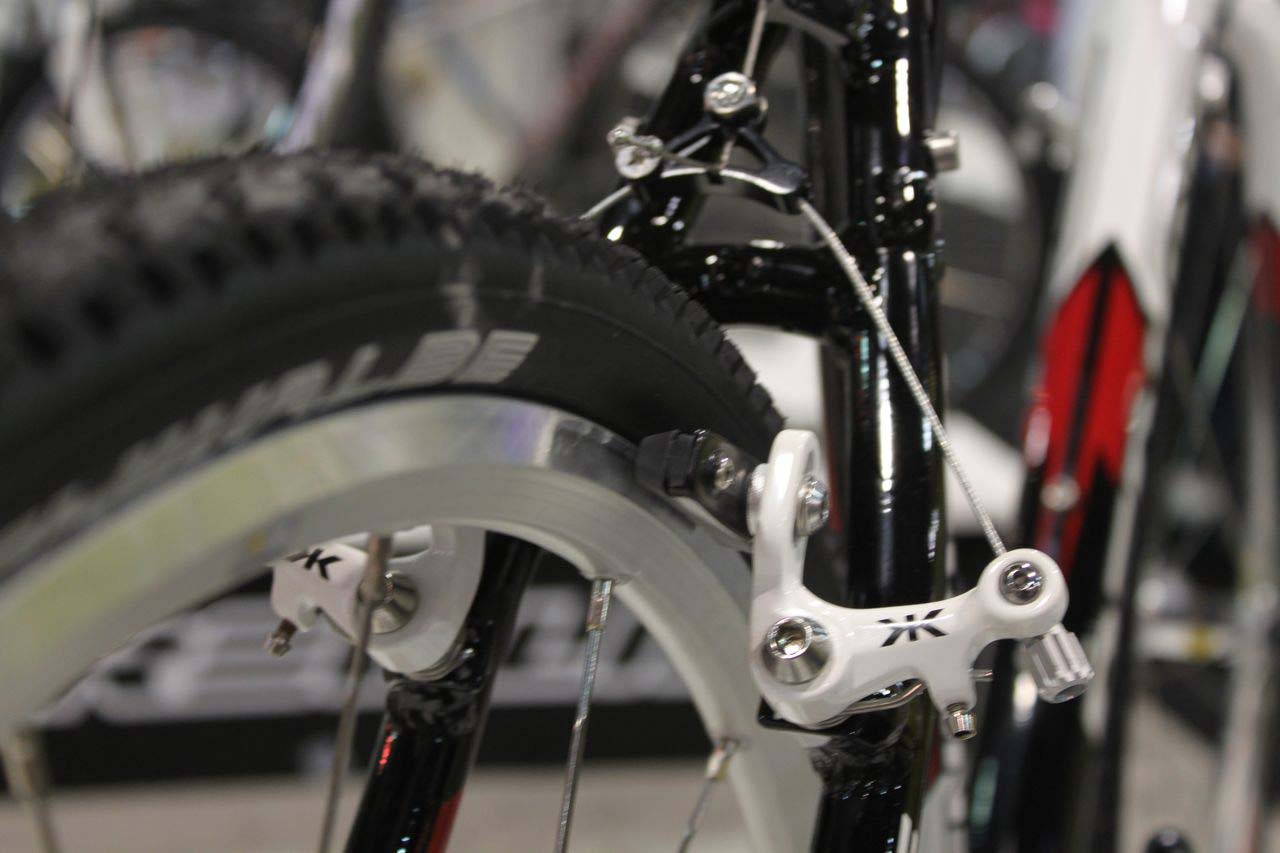 Kore cantilever brakes are standard on the Pro model. © Cyclocross Magazine
