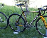 Choose your color, brake type, and transmission. Two of Ridley's 2013 X-fire carbon cyclocross bikes. ©Cyclocross Magazine