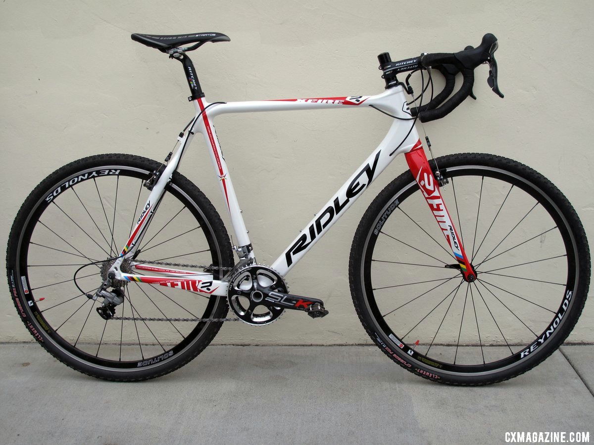 The new 2012 Ridley X-Fire PressFit 30 cyclocross bike. © Cyclocross Magazine