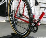 The steel Ritchey Swiss Cross is back for 2012 and featured the Ritchey Paradigm pedals and carbon WCS wheelset. © Tim Westmore / Cyclocross Magazine
