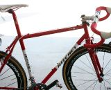 The steel Ritchey Swiss Cross is back for 2012, only lighter and with a whole lot of carbon. © Cyclocross Magazine