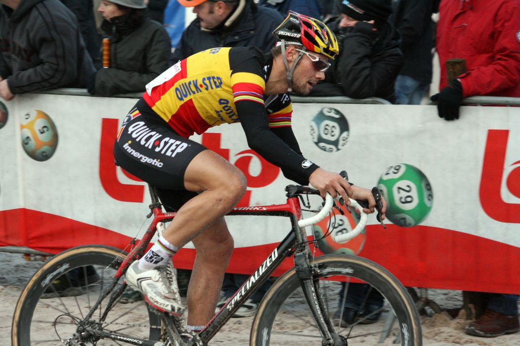Boonen would end the day in 13th. ? Bart Hazen