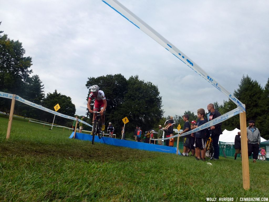 Rochester Elite Men Day 1. © Cyclocross Magazine