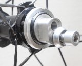 The Rolf SSCX cyclocross wheelset's fixed side. © Cyclocross Magazine