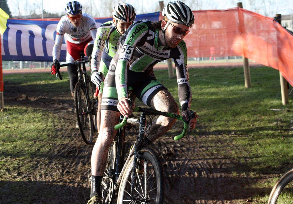 Jamey Driscoll finished 49th in Roubaix. ? Bart Hazen