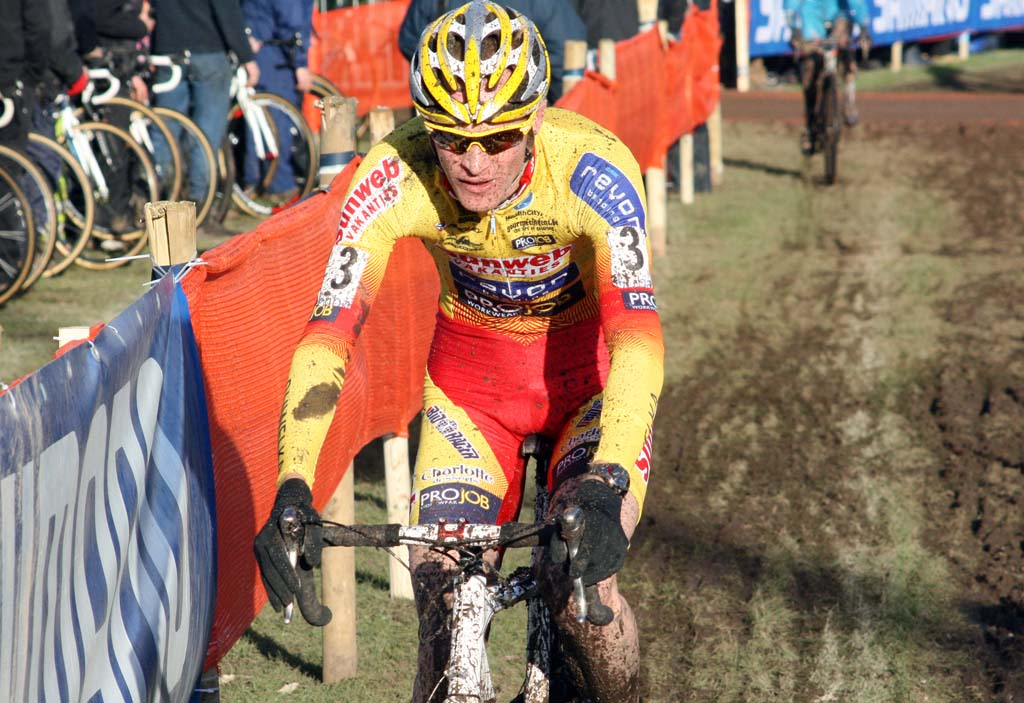 Vantornout had his highest World Cup finish this season in Roubaix. ? Bart Hazen