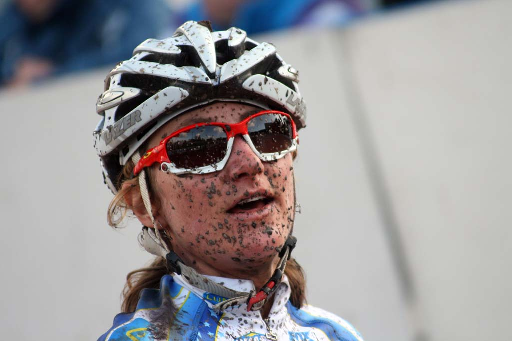 Dombroski after the race in Roubaix. ? Bart Hazen
