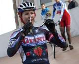 Meredith Miller can see again after the race in Roubaix. ? Bart Hazen