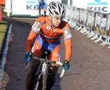 Lars Van der Haar would complete the top 10 in Roubaix. ? Bart Hazen
