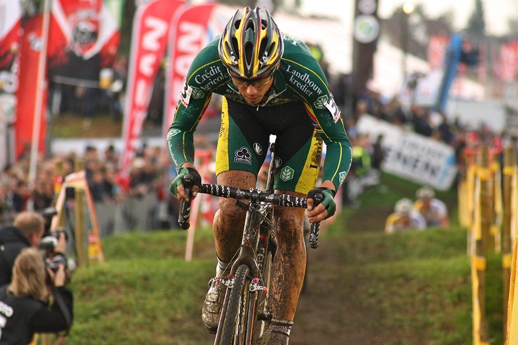 Sven Nys just missed the podium © Dan Seaton