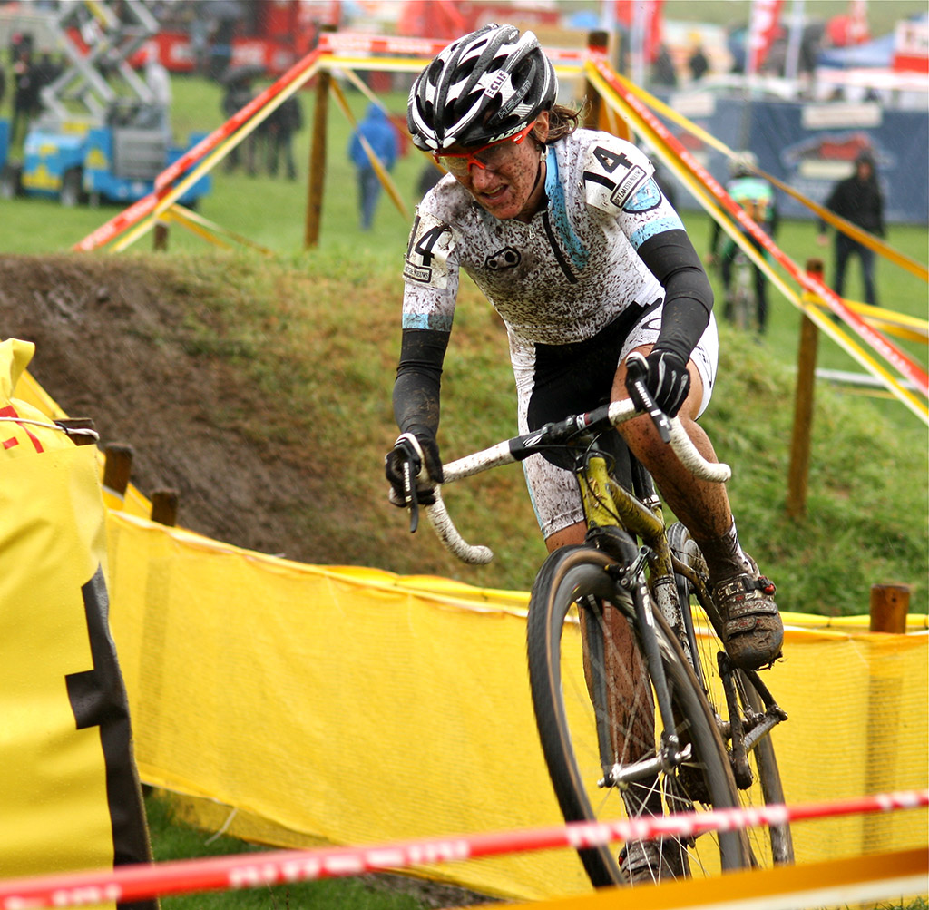 Amy Dombroski got off to a good start in her first European race of the season © Dan Seaton