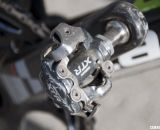 Ryan Trebon opts for Shimano's M970 XTR SPD pedals. © Cyclocross Magazine