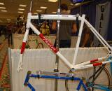 Taylor also showed off this fillet brazed 'cross frame with matching custom steel fork ? Dave Lawson