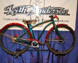 Okay, it?s not a ?cross bike but it was one of the most amazing pieces of art at the show. Custom paint specialist, Keith Anderson, built this 20? Cruiser with an amazing attention to detail and workmanship. ? Dave Lawson