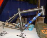 I think you?re going to have a hard time spec?ing wheels for this Kish frame ? Dave Lawson