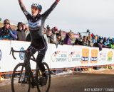 Arensman wins Womens 15-16 in the 2014 National Cyclocross Championships. © Mike Albright
