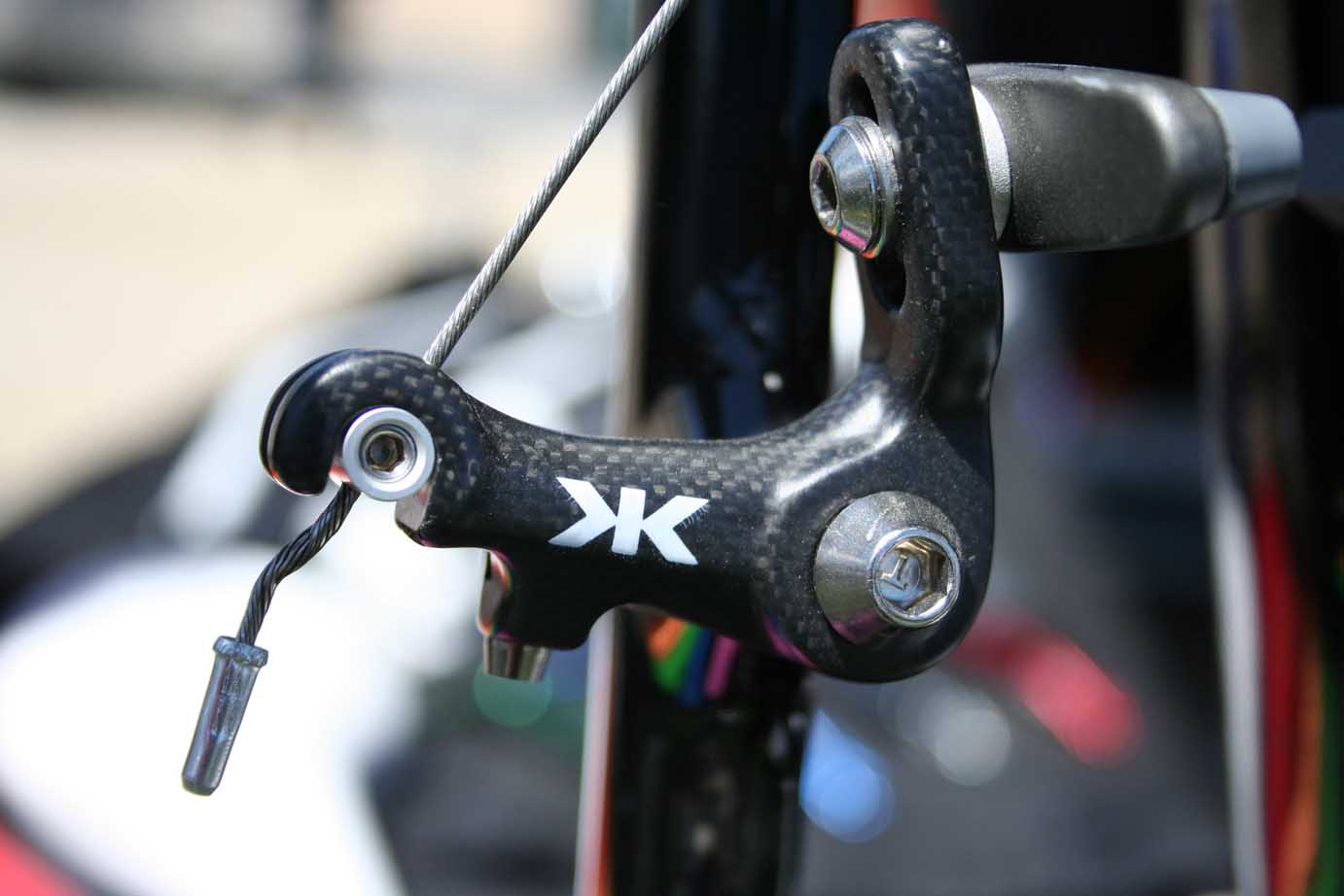 Kore\'s Carbon Ti Adjustable Cantilever Cyclocross Brakes