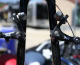 Kore's Carbon Ti Adjustable Cantilever Cyclocross Brakes