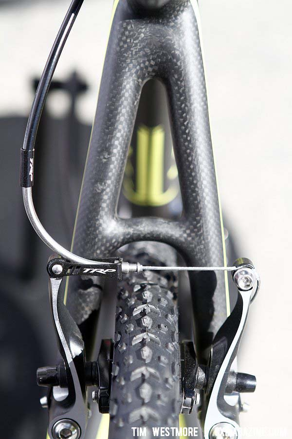The seatstays on the Felt F2X. © Tim Westmore / cxmagazine.com