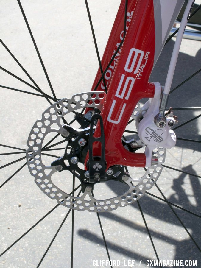 Formula\'s new hydraulic road and cyclocross brake as shown on a Colnago C59. Sea Otter 2012. ©Clifford Lee