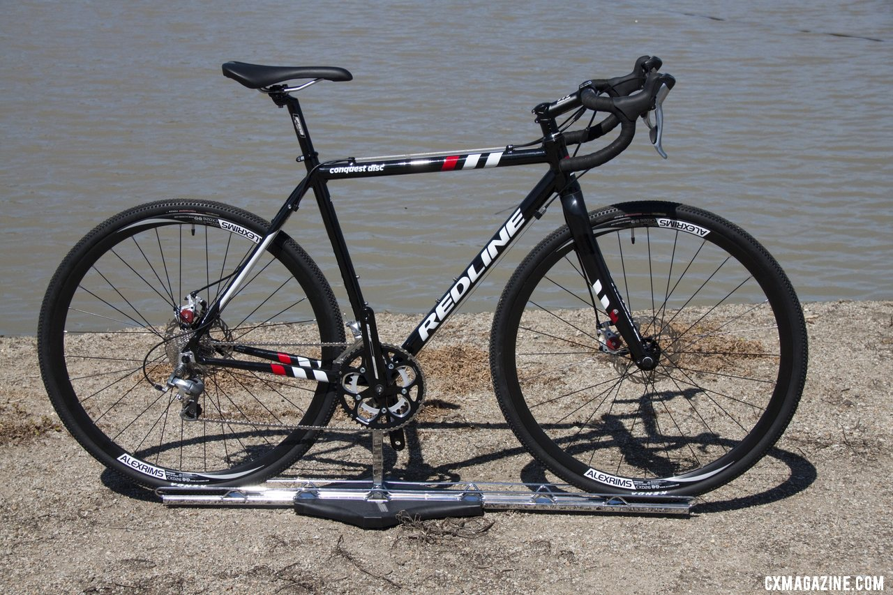 Redline\'s Conquest Disc cyclocross bike is back, about 10 years after its introduction. Sea Otter 2012. ©Cyclocross Magazine