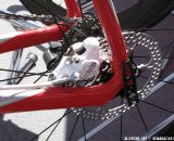 Formula's new hydraulic road and cyclocross brake as shown on a Colnago C59. Sea Otter 2012. ©Clifford Lee