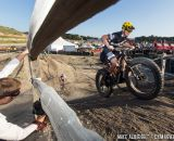 This fat bike stayed midpack all race during cyclocross at Sea Otter. © Mike Albright