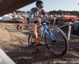 Berden hits the dip during cyclocross at Sea Otter. © Mike Albright