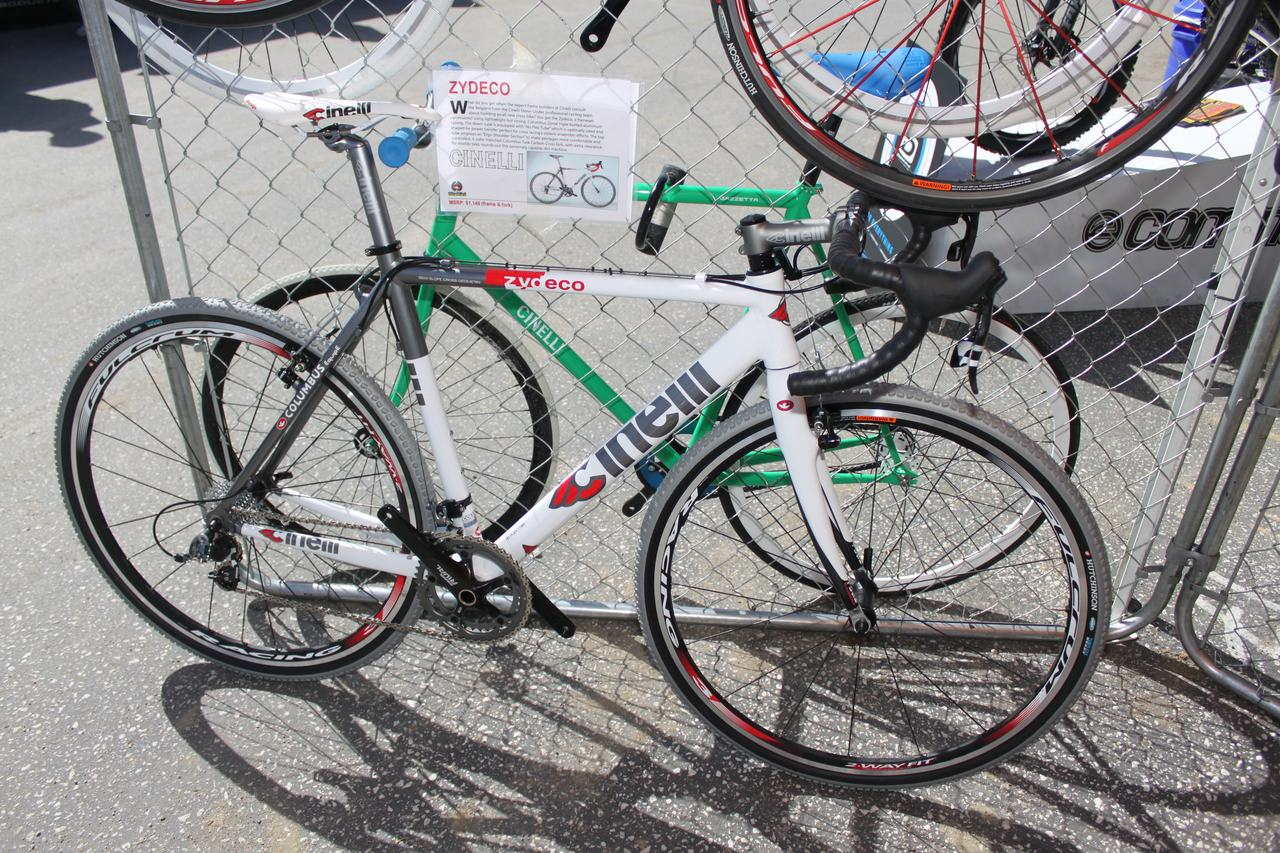 Cinelli's new Zydeco cyclocross bike with Columbus Airplane tubes ? Andrew Yee
