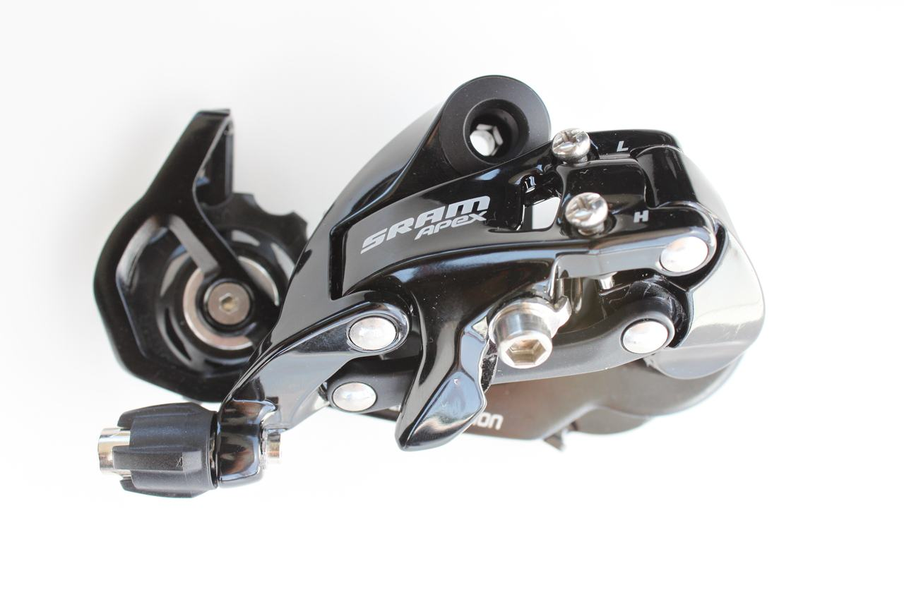 SRAM Apex rear derailleur, ready for the steepest hills ? Andrew Yee
