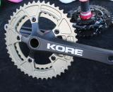Kore's 'cross-specific crankset offers a wider, 36/48 range © Cyclocross Magazine