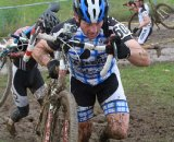 Cyclocross Magazine's Kenton Berg feels no pain © Janet Hill