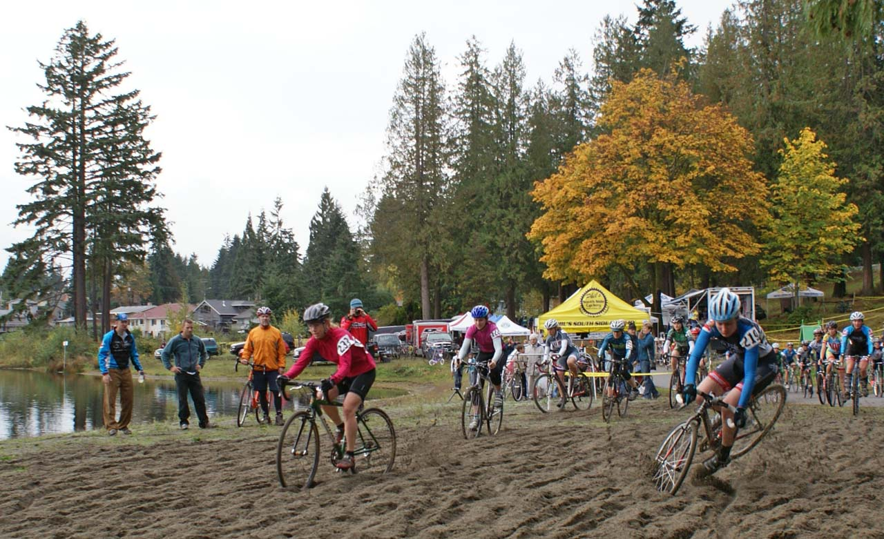 Seattle Cyclocross Race #3, Silver Lake, Everett