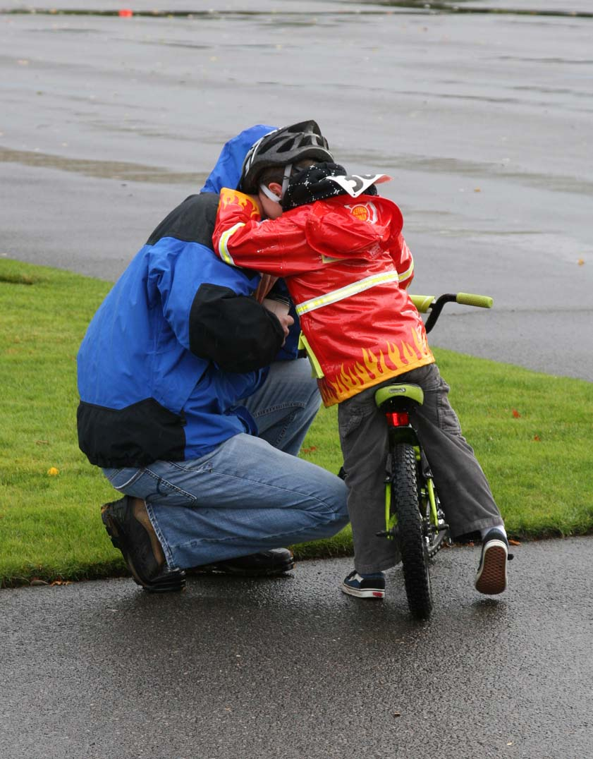 Cyclocross is emotional for even the youngest of us. ? Janet Hill / spotshotphotography.com