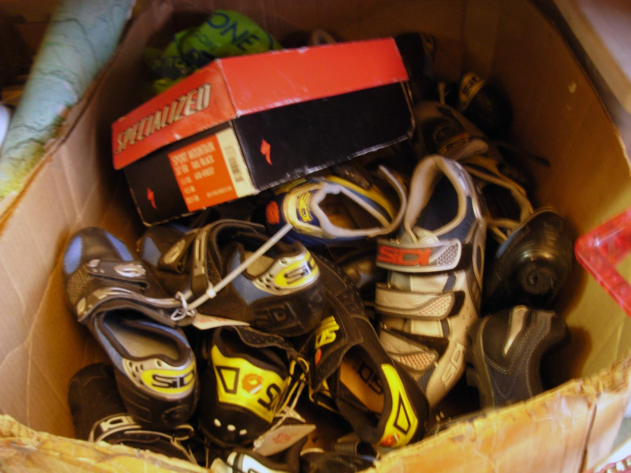 Box of gently loved shoes ? Josh Liberles