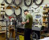 Mechanic wrenching on a commuter ? Josh Liberles