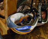 Sellwood Cycle Repair's Team S&M hat and helmet ? Josh Liberles