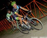 Ben Jacques-Maynes leading Scott Chapin - Bay Area Super Prestige Cyclocross - Sierra Point 2012. © Tim Westmore